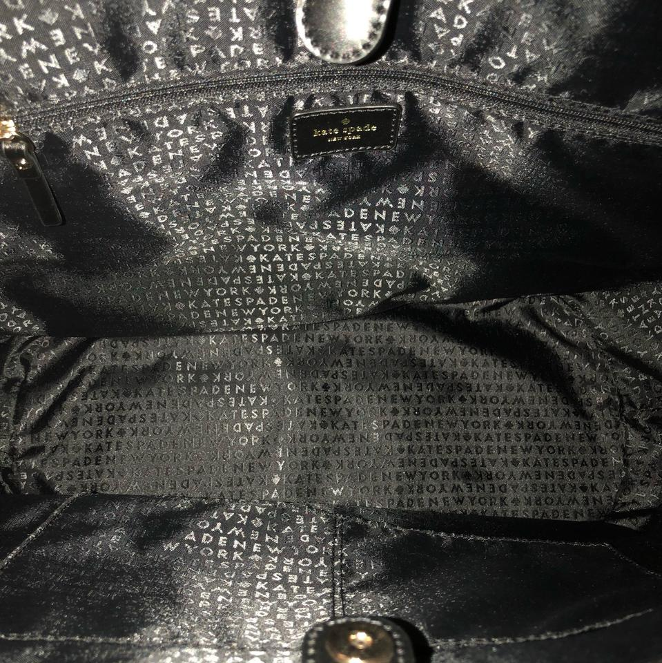 2019bb65ddc2 Kate Spade Large Oversized Anabette Wicklow Court Black and Tan ...