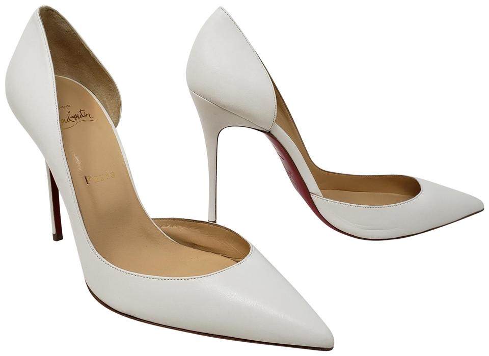 4dc56c7dd751 Christian Louboutin So Kate Pigalle Pointed Toe Patent Leather Iriza White  Pumps Image 0 ...