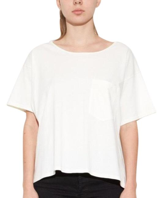 Preload https://img-static.tradesy.com/item/23756306/oak-white-slouch-pocker-tee-shirt-size-os-one-size-0-1-650-650.jpg