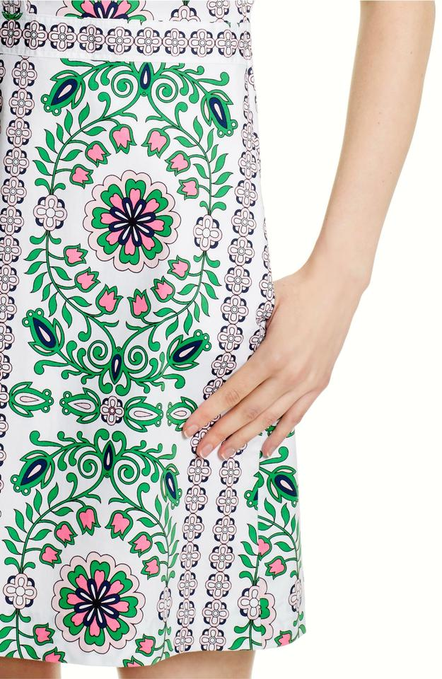 5decc10ed7d4 Tory Burch Multi-color Port Shirtdress In Garden Party Short Casual ...
