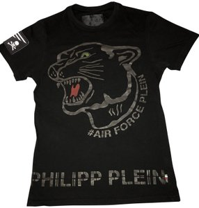 Philipp Plein Designer Limited Edition T Shirt Black