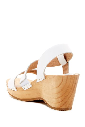Free People Sandals Beach Boho White Mules Image 1