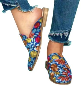 Free People Multi-colored Mules
