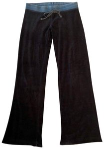 SOLOW Relaxed Pants black & blue