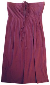 bobi short dress mauve on Tradesy
