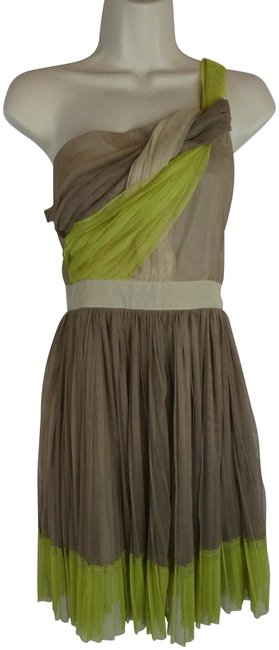 Item - Green New S Short Casual Dress Size 4 (S)