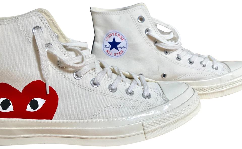 262c6a487b4e White Men s Play x Chuck Taylor® - Hidden Heart High Top sneaker ...