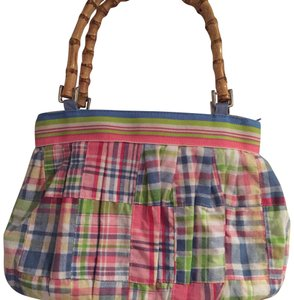 Braciano Satchel in Light Blue,Pink,Lime Green,Yellow,White