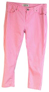 Jalate Jeans Skinny Pants Pink/White