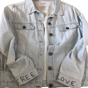 OneTeaspoon light wash denim Womens Jean Jacket