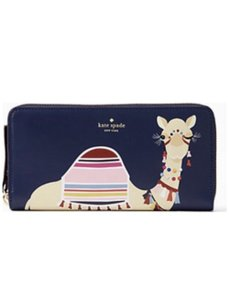 Kate Spade NWT Kate Spade Spice Things Up Camel Lacey Wallet WLRU4841
