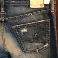 AG Adriano Goldschmied Straight Leg Jeans-Distressed Image 3