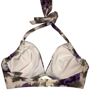 Lands' End Underwire, Halter, Floral