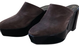 Robert Clergerie cafe Mules