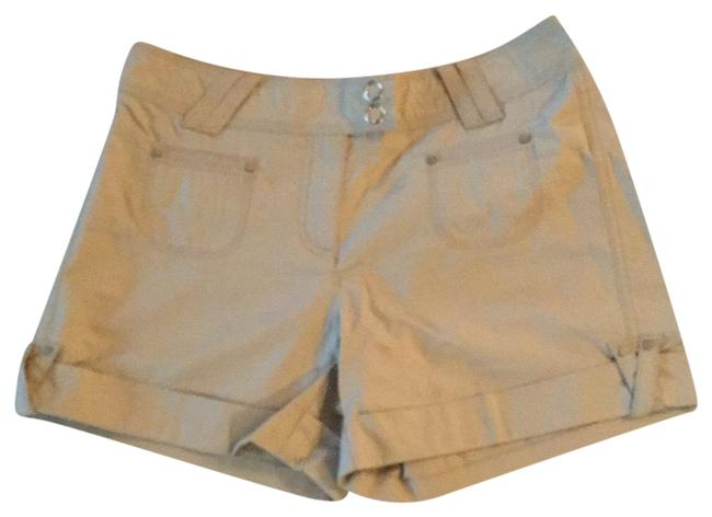 White House | Black Market Cuffed Shorts tan Image 0