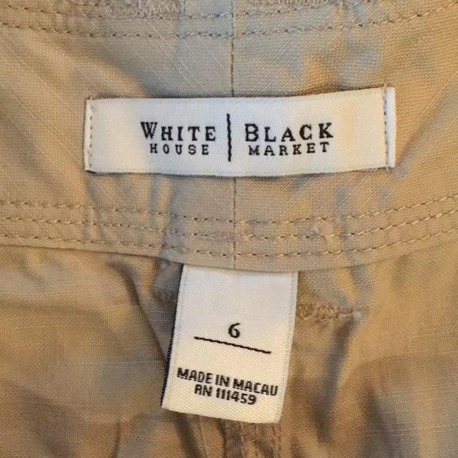 White House | Black Market Cuffed Shorts tan Image 1