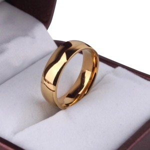 Other Men's/Women's 18k Gold Plated Wedding Band