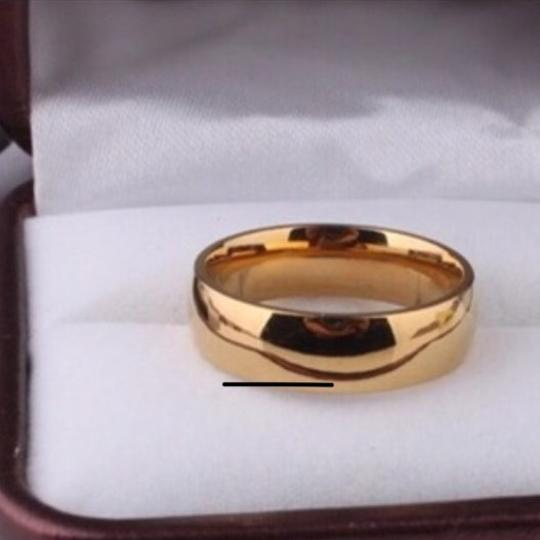 Other Men's/Women's 18k Gold Plated Wedding Band Image 1