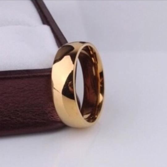Other Men's/Women's 18k Gold Plated Wedding Band Image 2