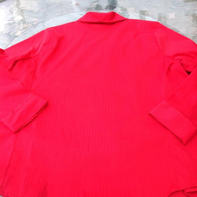 Avenue Button Down Shirt red Image 2