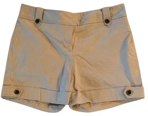 White House | Black Market Cuffed Shorts tan