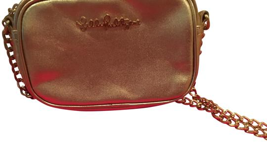 Lilly Pulitzer Chain Pebbled Leather Cross Body Bag Image 1