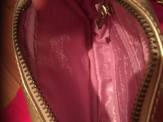 Lilly Pulitzer Chain Pebbled Leather Cross Body Bag Image 4