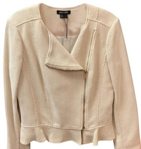 Paperwhite Mustard and Ivory with Gold Hardware Blazer