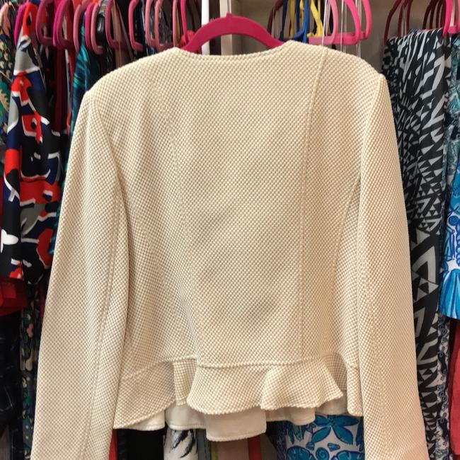 Paperwhite Mustard and Ivory with Gold Hardware Blazer Image 3