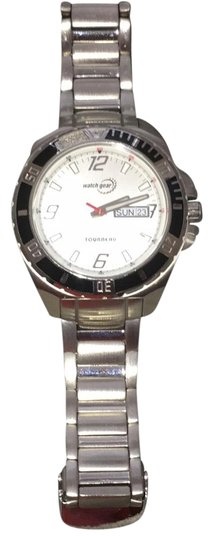 Preload https://img-static.tradesy.com/item/23759632/tourneau-silver-with-white-face-sports-watch-0-1-540-540.jpg