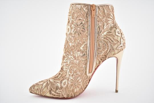 Christian Louboutin Stiletto Bootie Lace Gipsybootie Classic nude Pumps Image 7