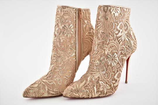 Christian Louboutin Stiletto Bootie Lace Gipsybootie Classic nude Pumps Image 8