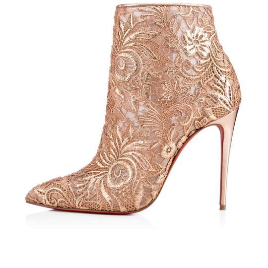 Christian Louboutin Stiletto Bootie Lace Gipsybootie Classic nude Pumps Image 2