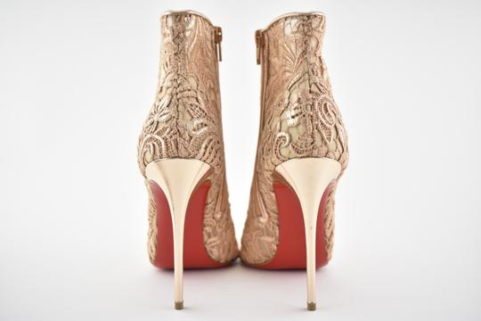 Christian Louboutin Stiletto Bootie Lace Gipsybootie Classic nude Pumps Image 10