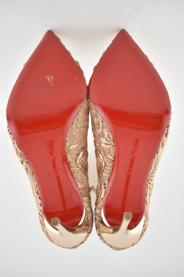 Christian Louboutin Stiletto Bootie Lace Gipsybootie Classic nude Pumps Image 11