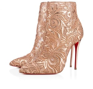Christian Louboutin Stiletto Bootie Lace Gipsybootie Classic nude Pumps