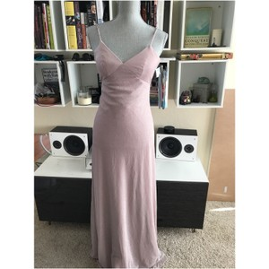 Jenny Yoo Blush Devon Glitter Knit Gown Feminine Bridesmaid/Mob Dress Size 0 (XS)