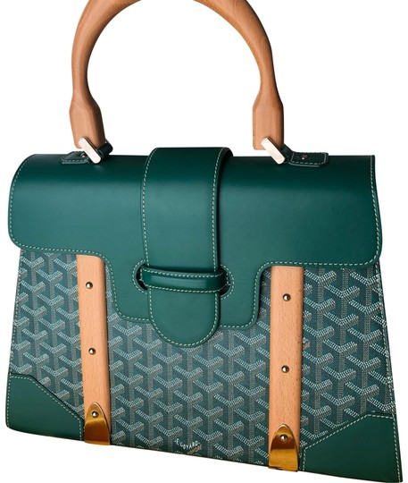 Goyard Satchel in Green Image 0
