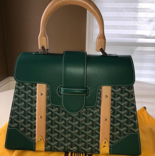 Goyard Satchel in Green Image 1
