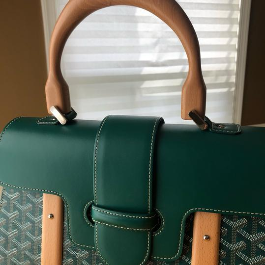 Goyard Satchel in Green Image 4