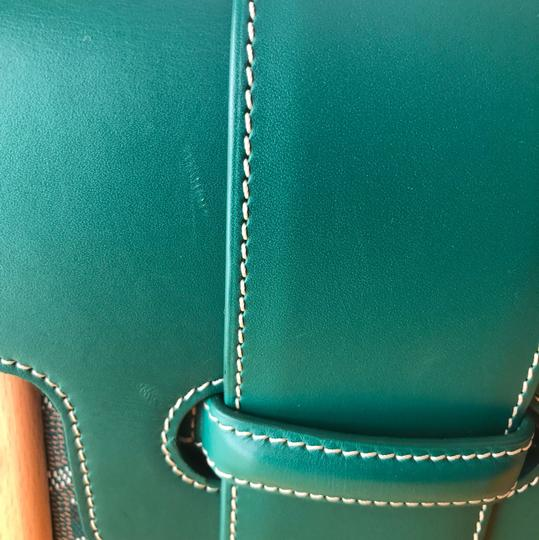 Goyard Satchel in Green Image 9