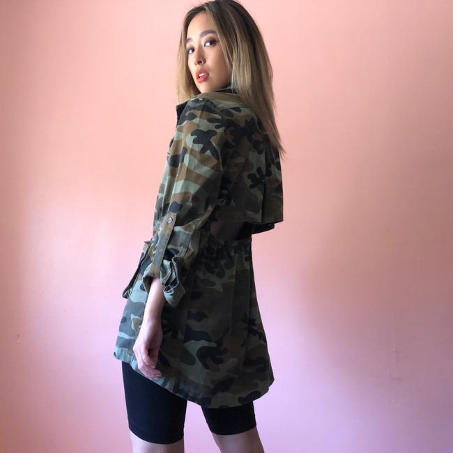 Nasty Gal Military Jacket Image 1