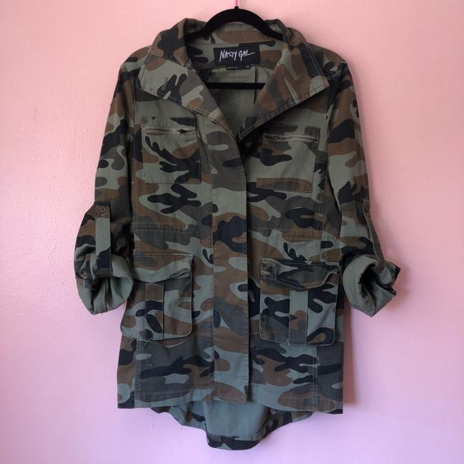 Nasty Gal Military Jacket Image 2