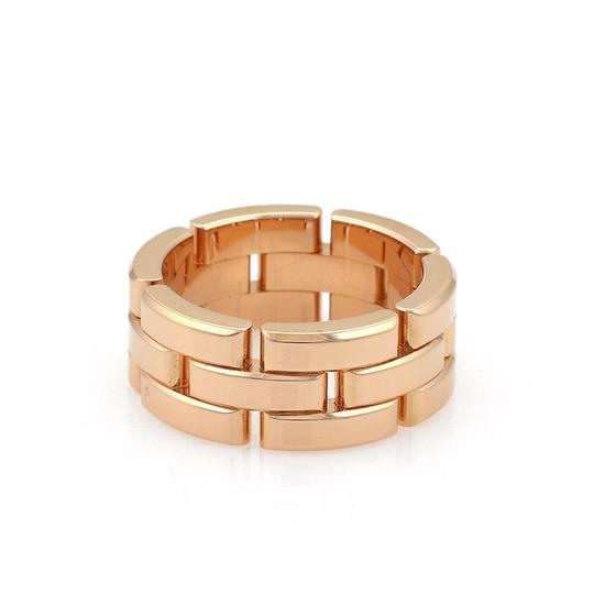 Preload https://img-static.tradesy.com/item/23760289/cartier-maillon-panthere-18k-rose-gold-8mm-band-size-51-us-55-wcert-ring-0-0-540-540.jpg