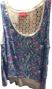 Lilly Pulitzer for Target Light Top Blue