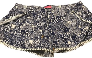 Lilly Pulitzer for Target Cuffed Shorts Dark Blue