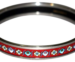 Hermès Hermes Printed Enamel Bangle
