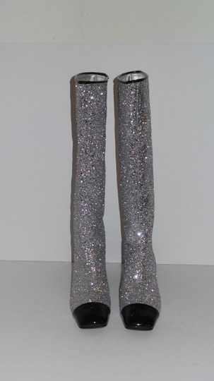 Chanel SILVER Boots Image 1