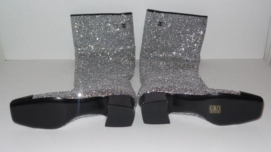 Chanel SILVER Boots Image 9