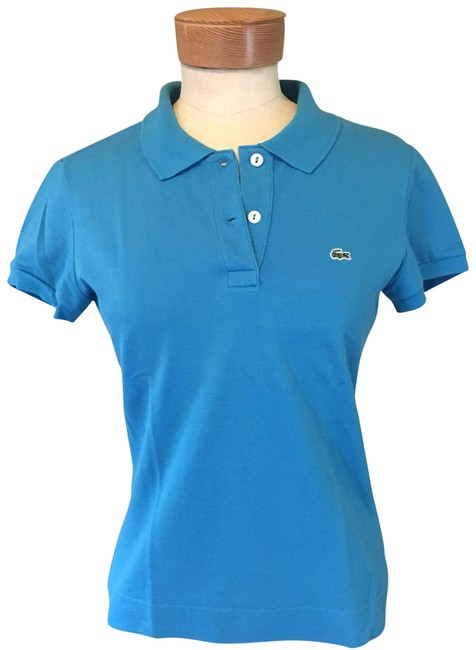 Preload https://img-static.tradesy.com/item/23760765/lacoste-blue-fit-polo-blouse-size-4-s-0-1-650-650.jpg